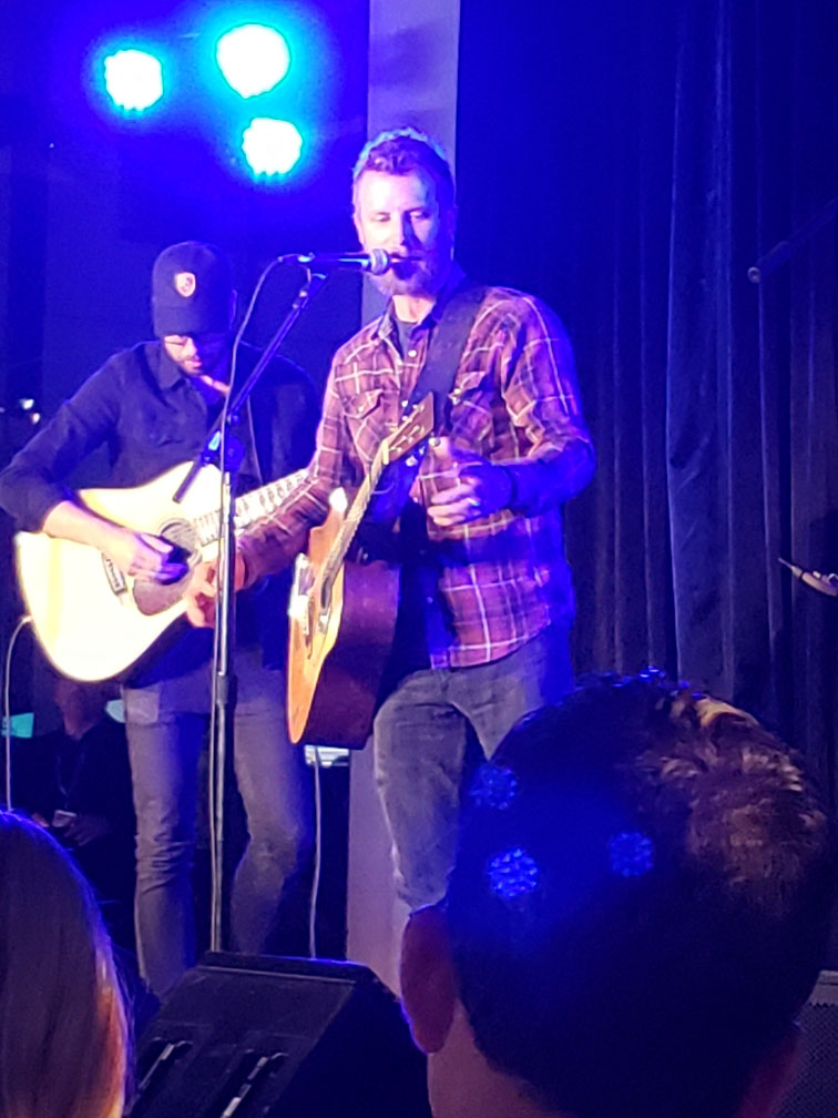 Dierks and The Great Grammy Museum