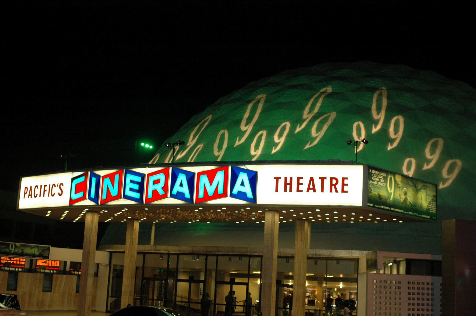 Cinerama Dome Goes GREEN!